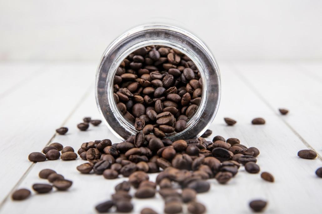 kvalitní pražená káva