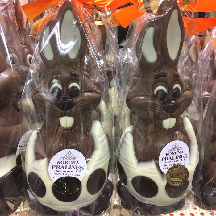 čokoládoví velikonoční zajíčci