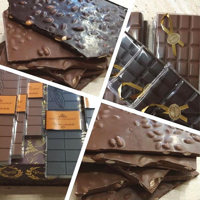 belgická tabulková čokoláda