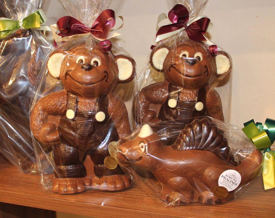 čokoládová opička